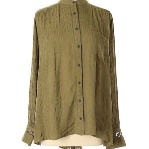 Free People button up long sleeve